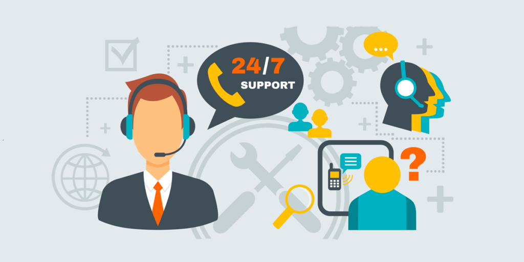 Service catalog customer support.
